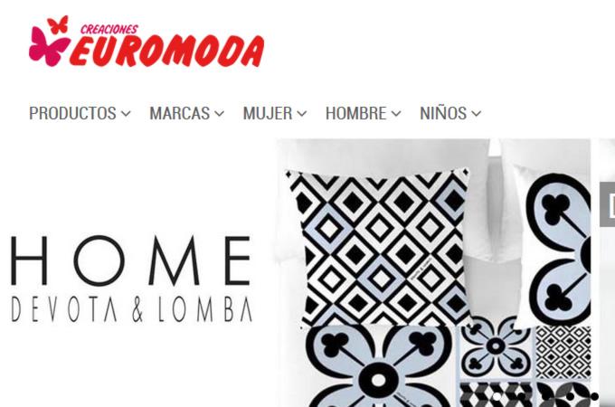 Tienda online para textil hogar