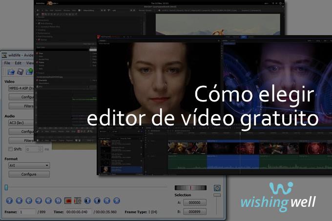 Cómo elegir editor de vídeo
